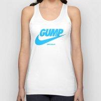 forrest gump Tank Tops featuring Gump- JustDoIt IV by IIIIHiveIIII