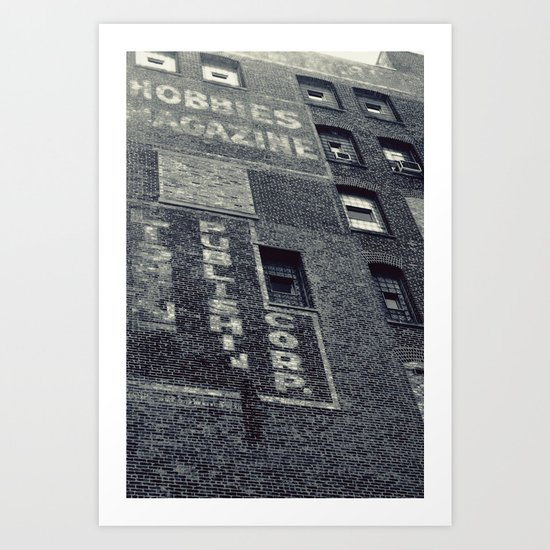 Hobbies Magazine Building Art Print