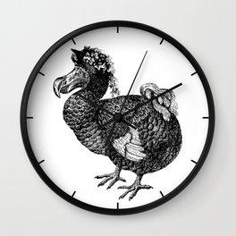 Mrs Dodo | Black and White Wall Clock