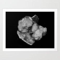 fake asteroid II Art Print