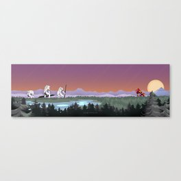 Three Minutes, Thirty Seconds Canvas Print
