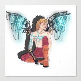 Mechno Angel  Canvas Print