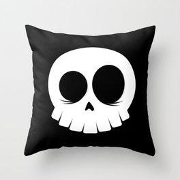 Skull Crew Throw Pillow