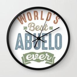 Best Abuelo Wall Clock