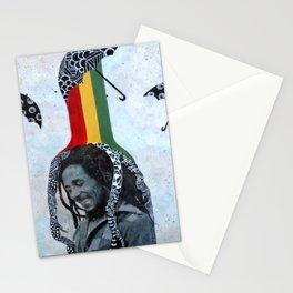 Rastafari Rain Stationery Cards