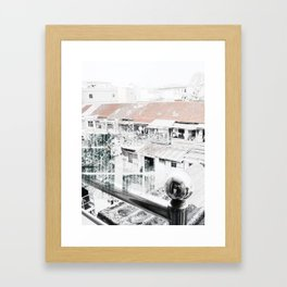 m.7. Framed Art Print