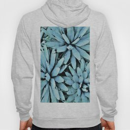 succulents in turquoise Hoody