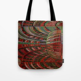 unexpected time warp Tote Bag