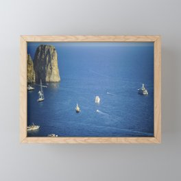 Capri, Amalphi Coast, Italy 7 Framed Mini Art Print