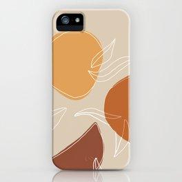 VENDEMMIA SICILIANA - Sicilian Harvest - Modern abstract art iPhone Case