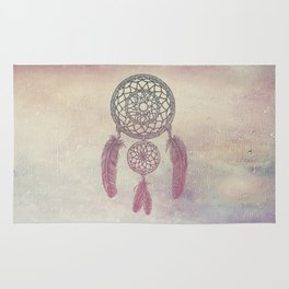 Double Dream Catcher (Rose) Rug