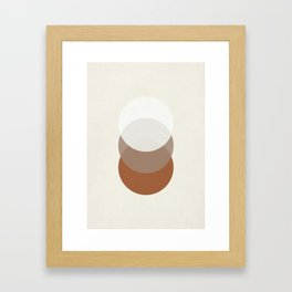 Orbit 005 Framed Art Print