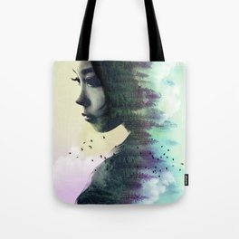 CONTEMPLATION FOREST Tote Bag