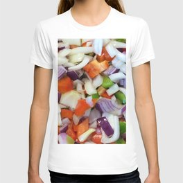 Onions and Bell Peppers T-shirt