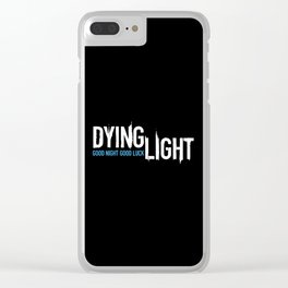 Dying Light Clear iPhone Case