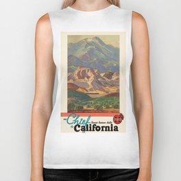 Vintage poster - California Biker Tank