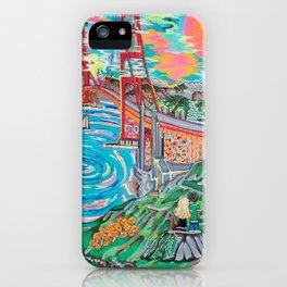 San Francisco Joe iPhone Case