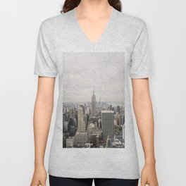 Empire State Building New York City, USA - Travel Photography fine art wall print Unisex V-Neck