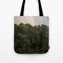 This Phenomenon is caused by Reflection, Refraction and Dispersion Tote Bag