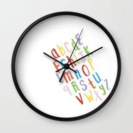 Rainbow Song Wall Clock