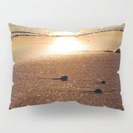 Sunset at Narragansett Beach Pillow Sham