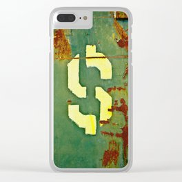 Big Bucks Clear iPhone Case