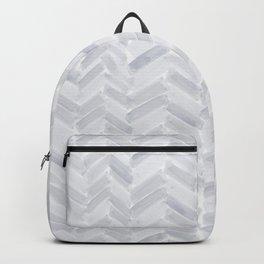 Slate Chevron Backpack