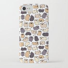 Pug Life Doodle iPhone Case