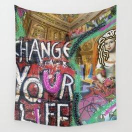 pop art grafitti Wall Tapestry