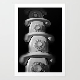 phone Art Print