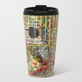 Prioritizing the Preservation of Favoured Struggles: Our Mesmerizing Bucket of Worms Metal Travel Mug
