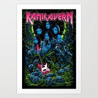 KamiKavern Art Print