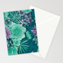 Succulent Love I Stationery Cards