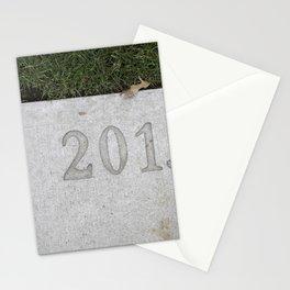 Granville Island sidewalk stamp 2013 Stationery Cards