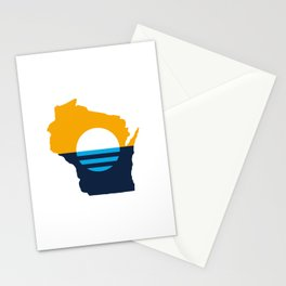 Wisconsin - People's Flag of Milwaukee Stationery Cards