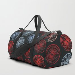 bike wheels Duffle Bag