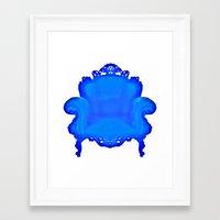 baroque Framed Art Prints featuring Baroque  by Xchange Art Studio
