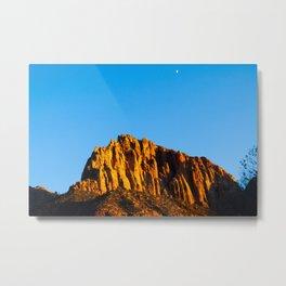The Watchman. Zion National Park. Utah. USA Metal Print