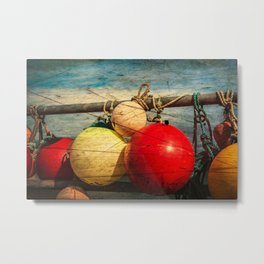 Nautical Bouys. Metal Print