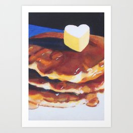 Pancake Love Art Print