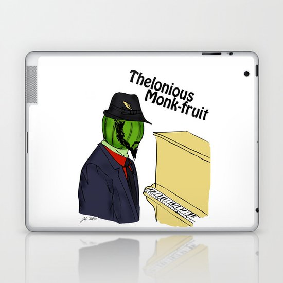 thelonious monk-fruit Laptop & iPad Skin