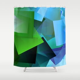 Leaves and light ... Shower Curtain