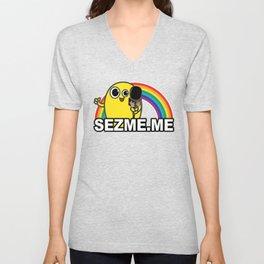Mellow Rainbow Unisex V-Neck