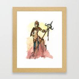 African Centaur Framed Art Print