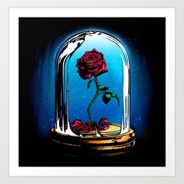 R.R   Rose Rouge Art Print