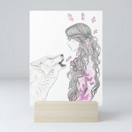 Pink Sapphire Mini Art Print