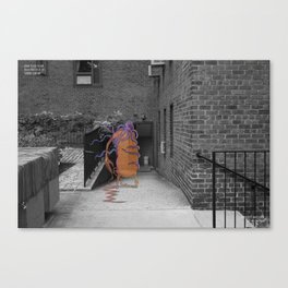 Unseen Monsters of New York - Thernody Scobiform Canvas Print