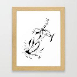 Bleeding Ink Framed Art Print