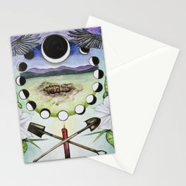 Bury What You Wish To Rise Stationery Cards