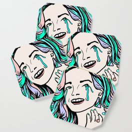 Pop Art - Quarter Life Crisis Coaster